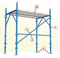 Messers s p a il gigante blu sistemi integrati per l - Tavole da ponteggio usate ...